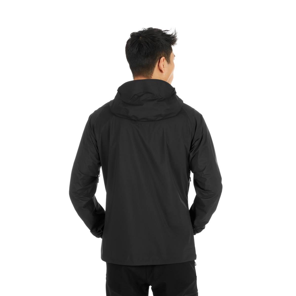 Mammut Masao Light HS Hooded Jacket Men Black-Phantom